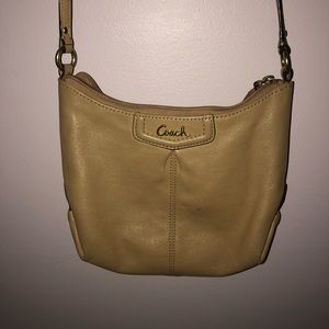 Coach Crossbody Tan Purse